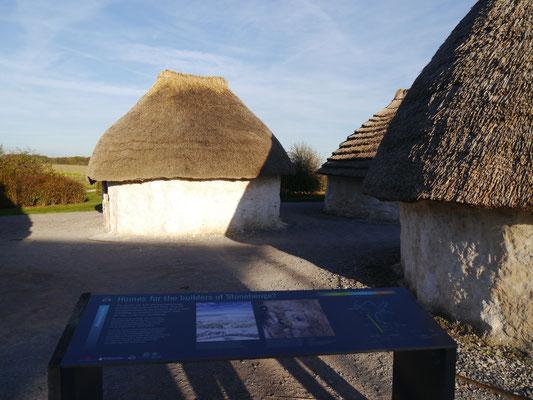 Kleines Dorf zu Zeiten von Stonehenge