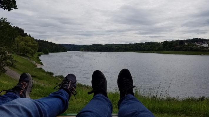 Entspannung auf der Relaxliege