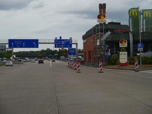 Schweizerisch-deutsche Grenze bei Basel