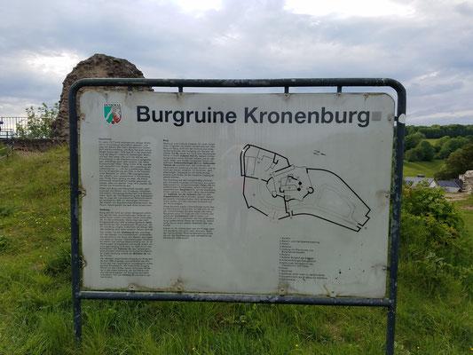 Burgruine Kronenburg