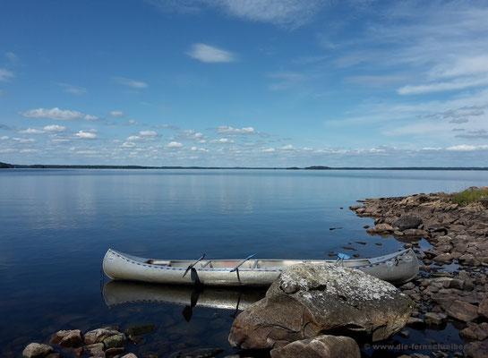 Spiegelglatt ruht der See!