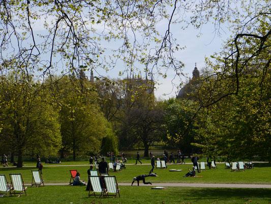 Entspanntes Leben im St. James's Park