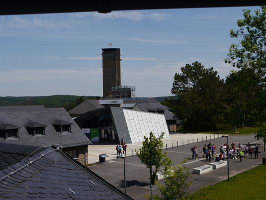 Blick auf das Besucherzentrum