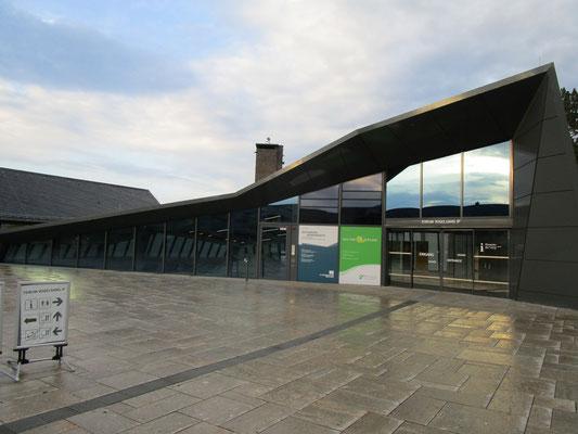Ehemaliger Adlerhof mit heutigem Besucherzentrum
