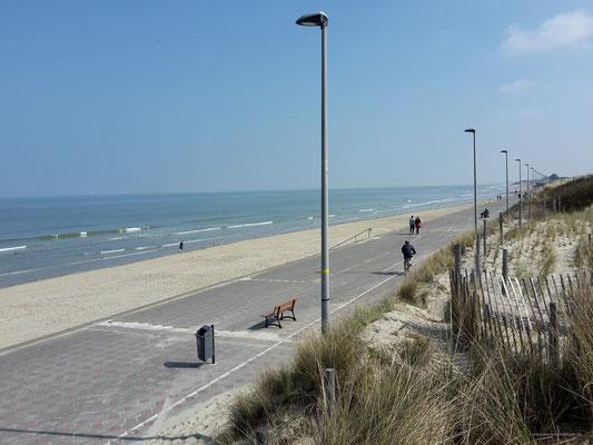 lange Strandpromenade...