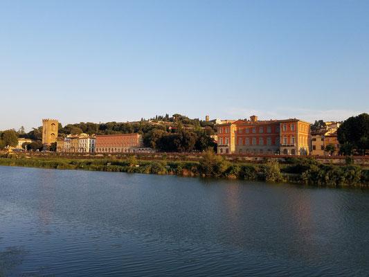 Südufer des Arno