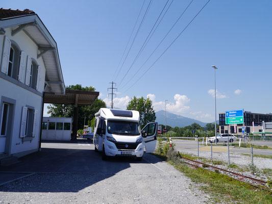 kurzer Halt für Bezahlung der Schwerlastabgabe in der Schweiz
