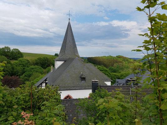 Dach der Johanniterkirche