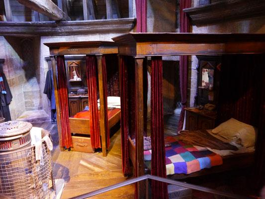 Jungenschlafsaal von Gryffindor