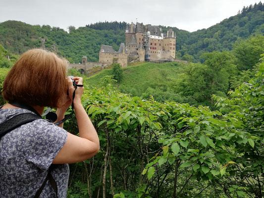"Erstes ""Foto-Shooting"" der Burg"