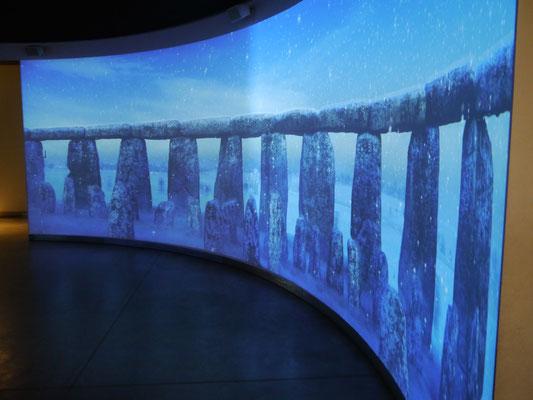 Diorama im Besucherzentrum