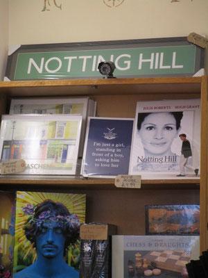 """Hinweise und Zitat aus dem Film """"Notting Hill"""""""