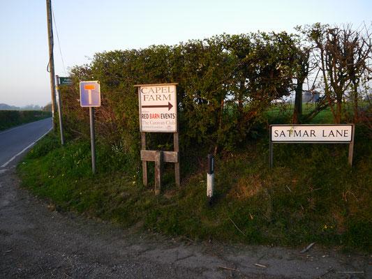 ... bis zum Ziel: Die Capel Farm in Capel-le-Ferne, Folkestone