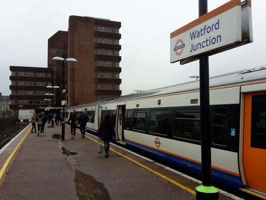 Ankunft Watford Junction