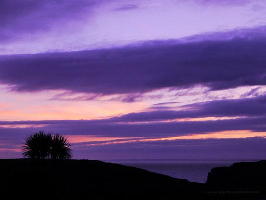 Abendstimmung an der Westküste Cornwalls in Tintagel