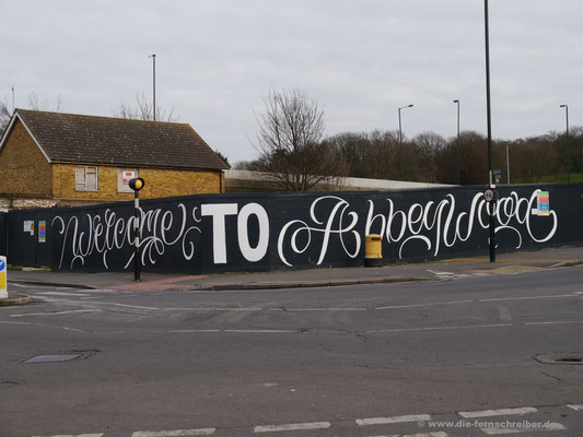 """Abbey Wood-Graffiti""..."