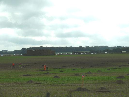 Ausgrabungen auf den Feldern rund um Stonehenge