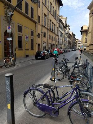 Fahrradständer...