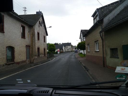 Halb verfallene Ortschaft