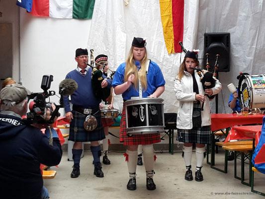 schottische Klänge an der Waterkant