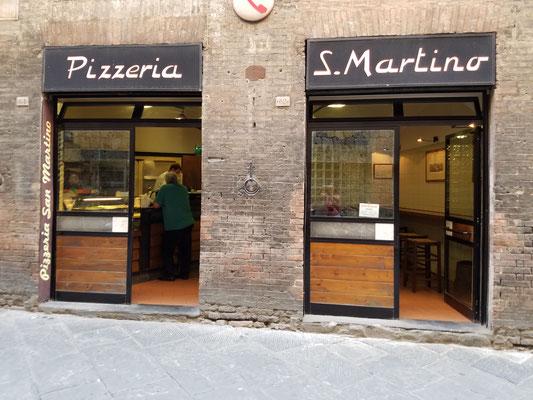 Pizzaria San Martino unweit des Campo