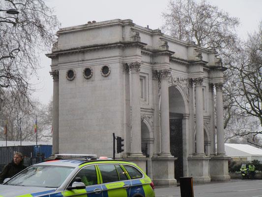 Marble Arch im regen...