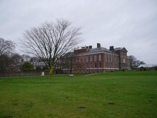 Kensington Palace mitten im Grünen