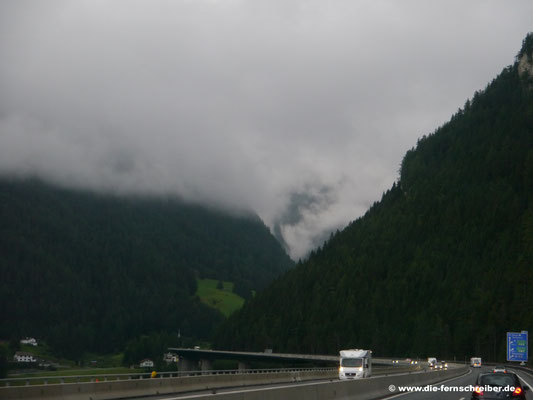 ... auf der Brenner-Autobahn