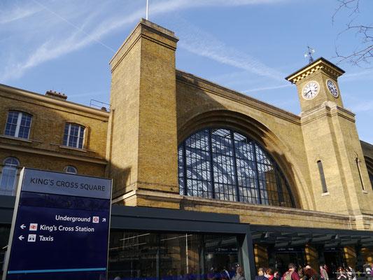 Und Bahnhof King's Cross gleich nebenan...