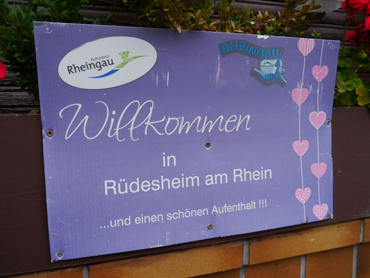 Willkommen in Rüdesheim