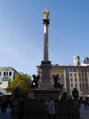 Mariensäule auf dem Marienplatz