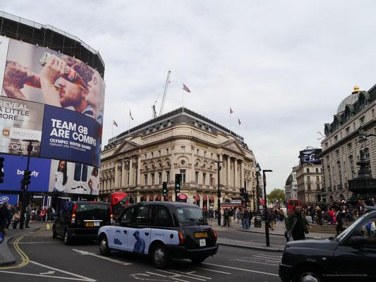 Piccadilly Circus - von Jan.- Herbst 2017 leider ohne Leuchtreklame