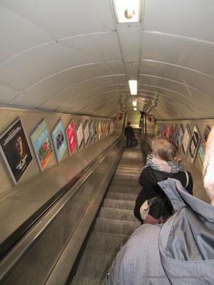 Ab in das unterirdische Labyrinth der Tube
