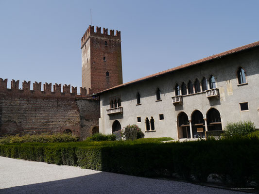 Die Burg der Scaliger in Verona