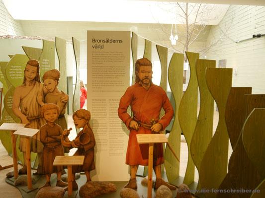 Fünfköpfige Familie vor 3000 Jahren