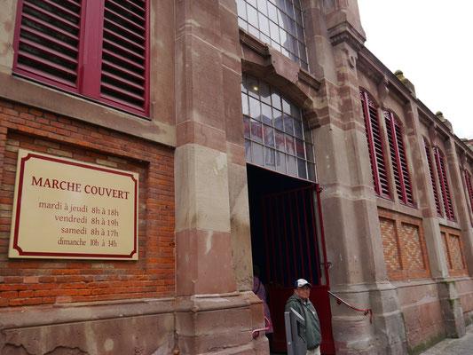 Fassade der Markthalle