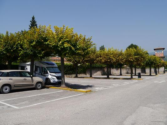 Eigentlich Parkplatz...