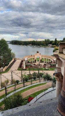 Ausblick auf die Orangerie