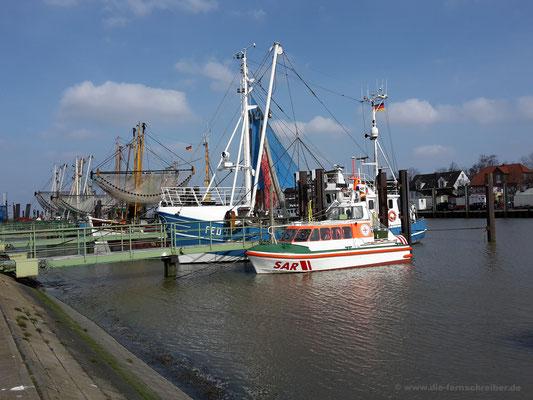 Hafen von Fedderwardersiel