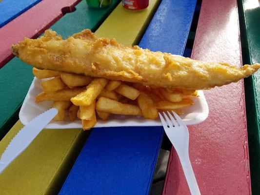 ... und Fish & Chips