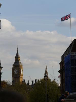 ... und im Hintergrund Big Ben...