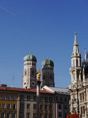 Turmansichten der Frauenkirche