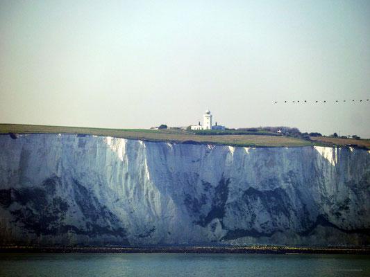 Toller Anblick! Der weiße Leuchtturm von Dover