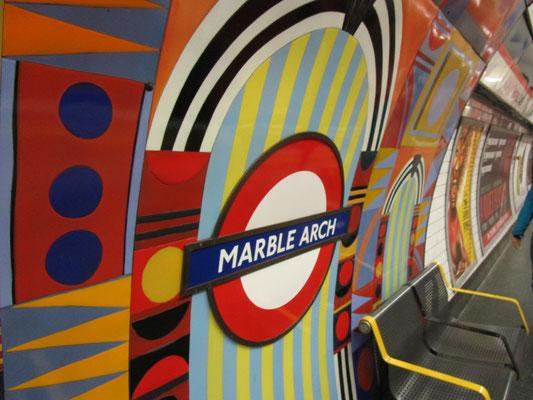 Ankunft Underground Marble Arch