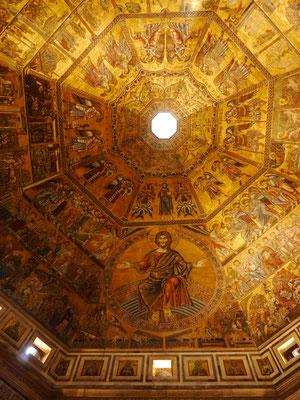 Kuppelraum des Baptisteriums, Dantes Taufkirche
