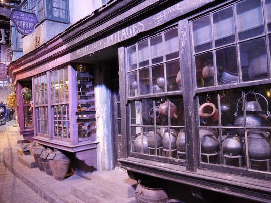 Apotheke und Kesselladen für Zaubertrankkessel aller Art