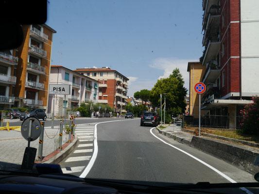 Pisa Stadtschild