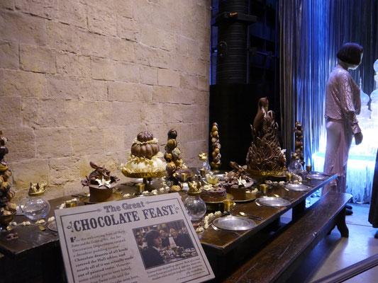 """Das Schokoladen-Festmahl aus """"Harry Potter und der Feuerkelch"""""""