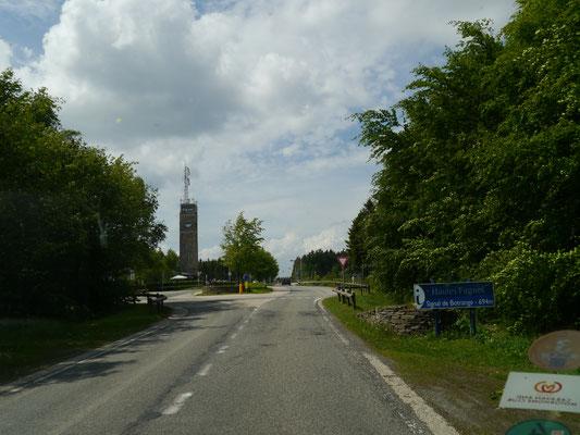 Signal de Botrange - mit namengebendem Signalturm