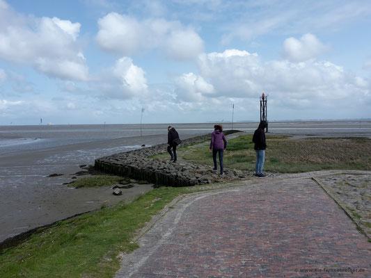 Spaziergang zum Signalmast